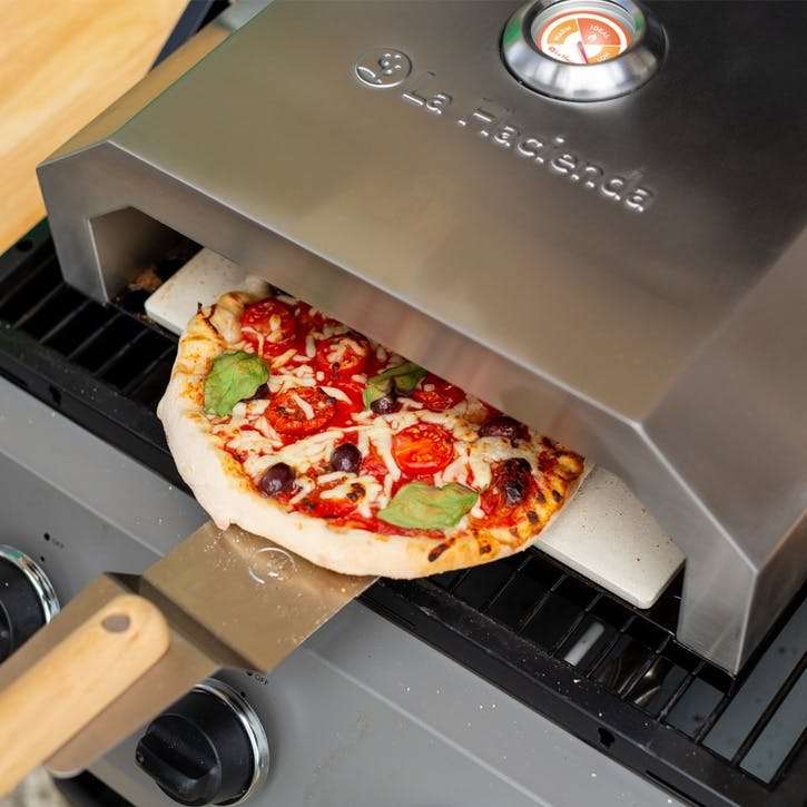 BBQ Pizza Oven, Stainless Steel