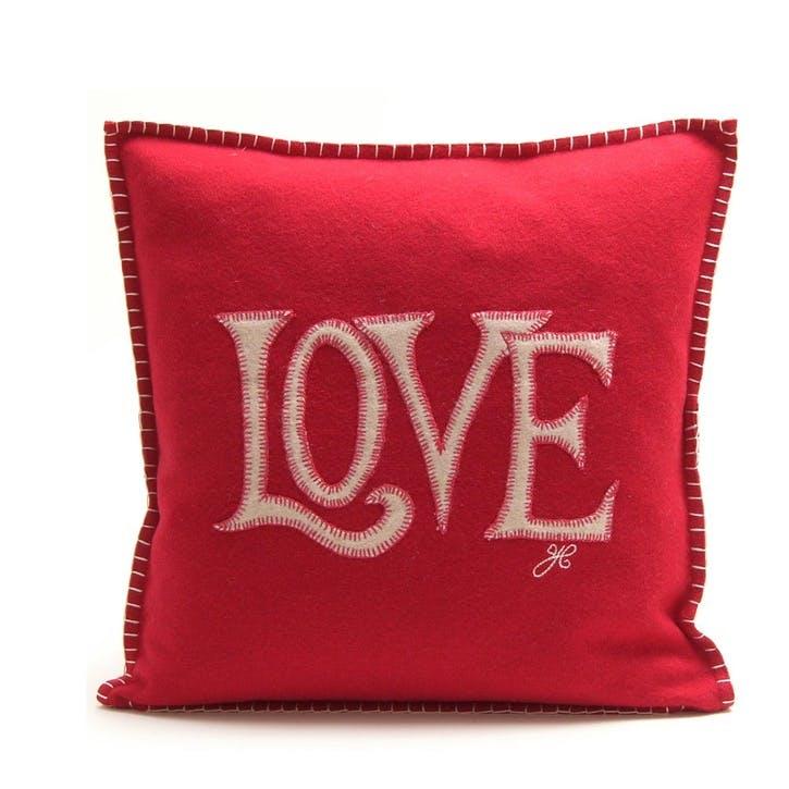 Love Cushion, Red