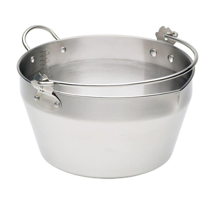 Maslin Preserve Pan with Handle