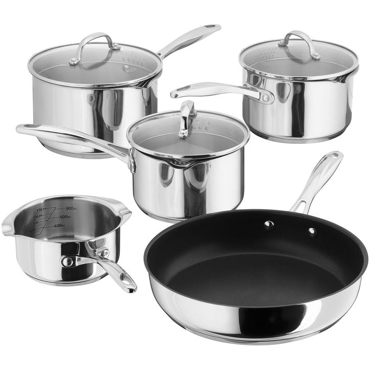 7000 Draining Saucepan Set, 5 Piece