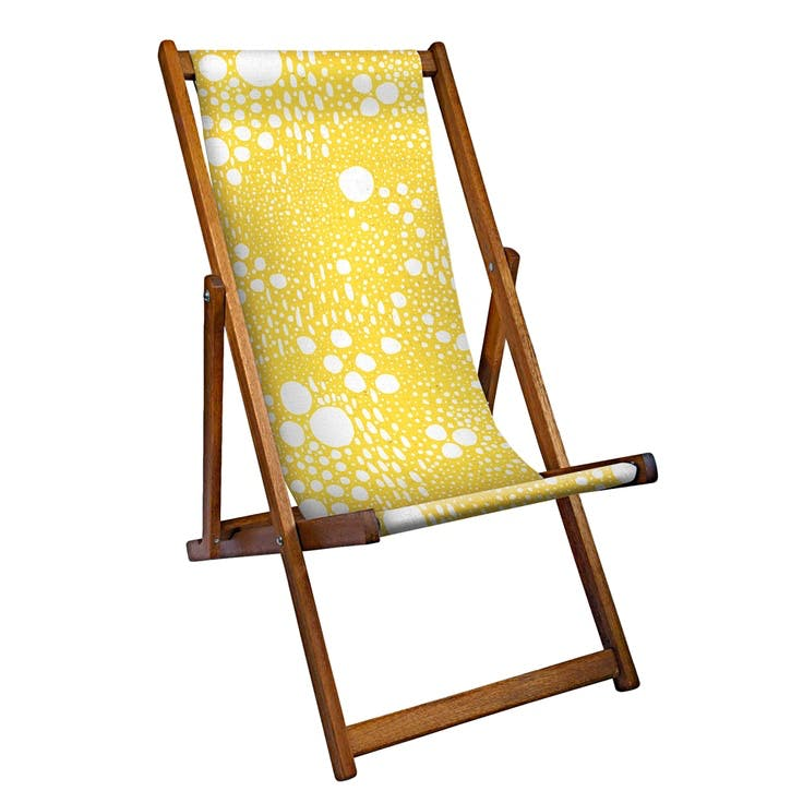 Deckchair Yellow Fall