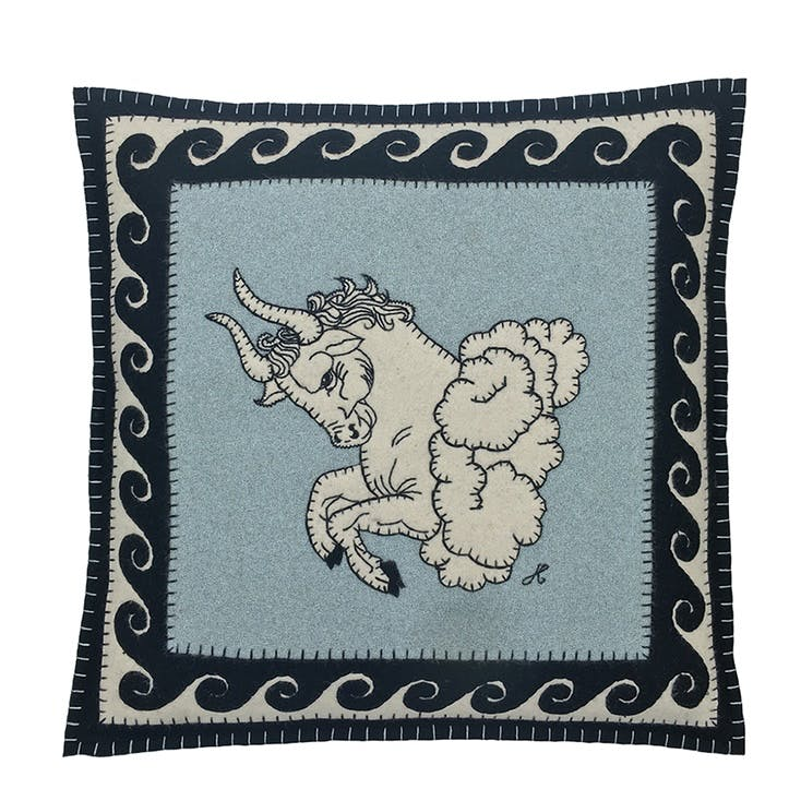 Taurus Cushion, 46 x 46cm, Multi