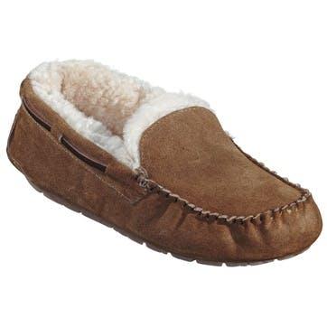Steffo Mens Slippers - Size 10; Camel