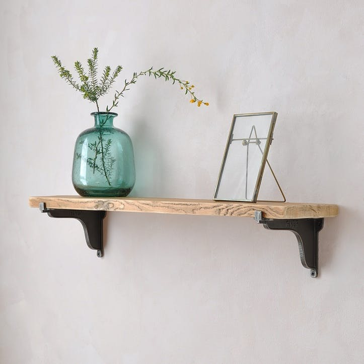Railway Reclaimed Wood Shelf