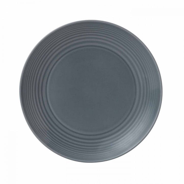 Gordon Ramsay Maze Side Plate, Dark Grey