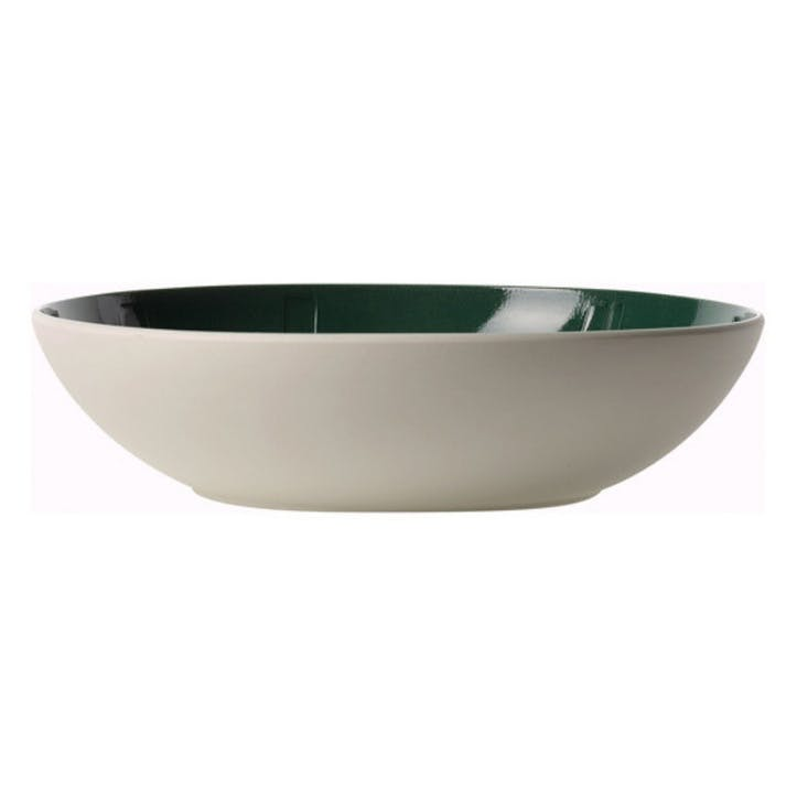 It's My Match Leaf Serving Bowl, Green