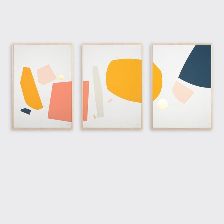 Sintra, Set of 3 Prints, H59 x L42cm