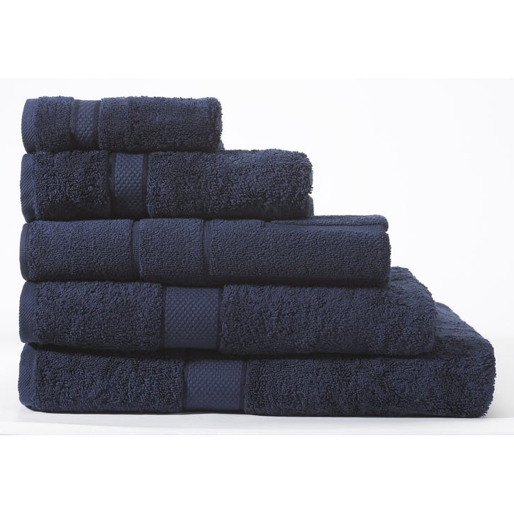 Luxury Egyptian British Navy Hand Towel