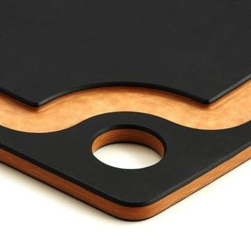 Chopping Board, L44 x W33cm, Natural and Slate
