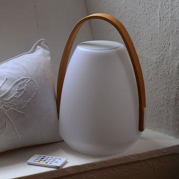 Neptune Bluetooth Speaker Lantern, White