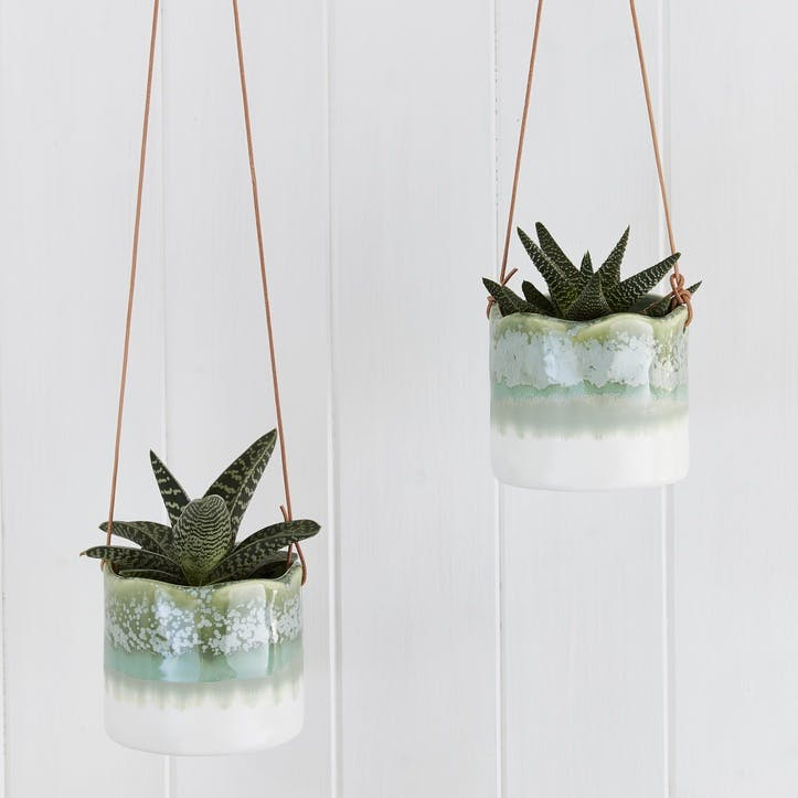 Indoor Hanging Pot, Wave Design