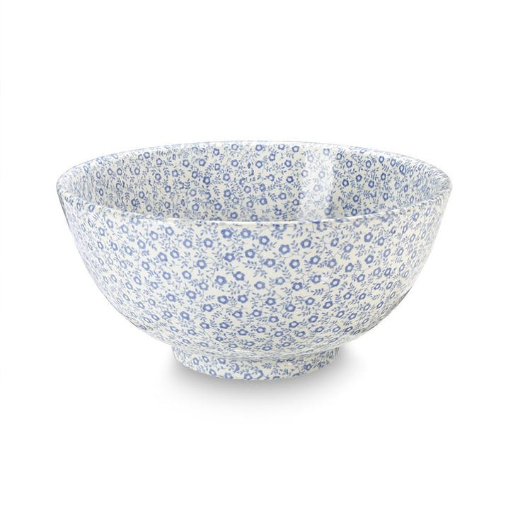 Felicity Footed Bowl, Medium, Pale Blue