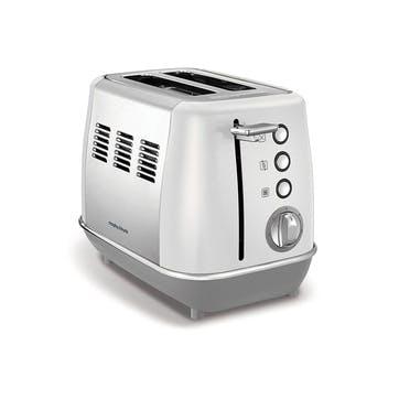 Evoke 2 Slice Toaster; White