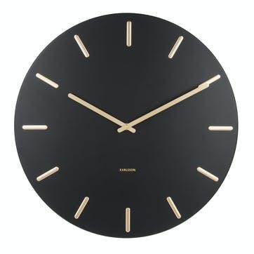 Charm Wall Clock, Black