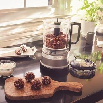 Mini Food Processor; Contour Silver