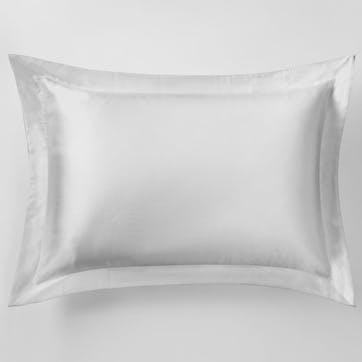 Lanham Tailored Single Pillowcase, Silver