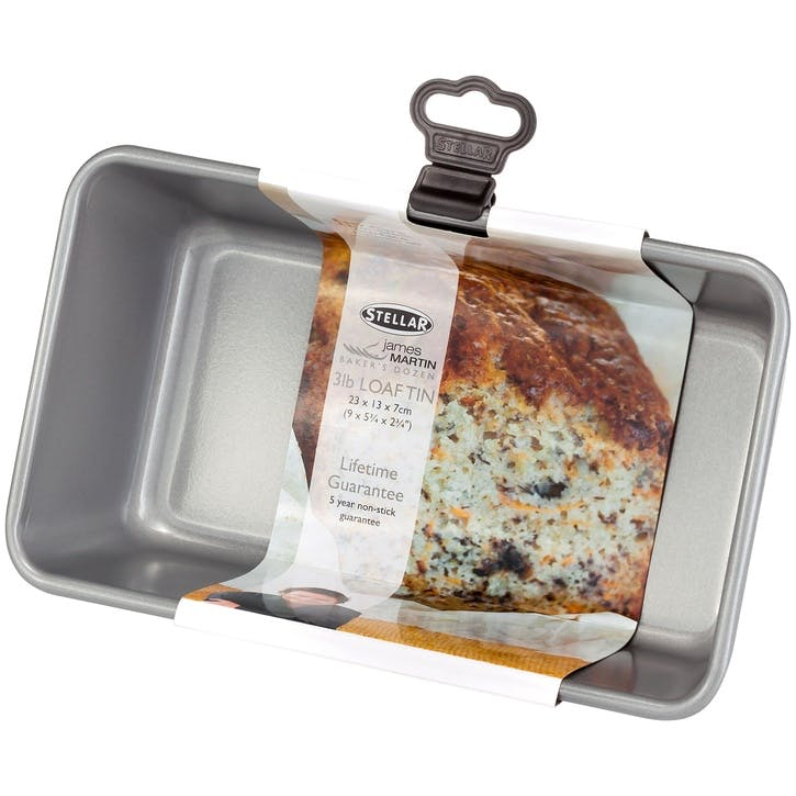 James Martin Bakers Dozen 2Ib Loaf Tin; 23 x 13 x 7cm