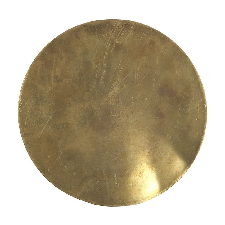 "Trivet, 10"", Brass"