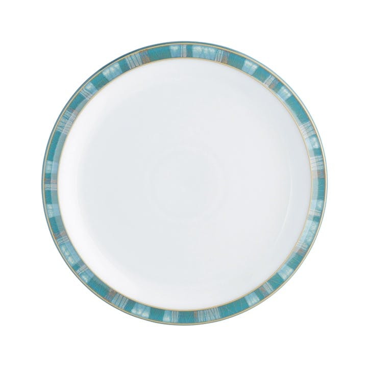 Azure Coast Medium Plate, 22.5cm, Blue