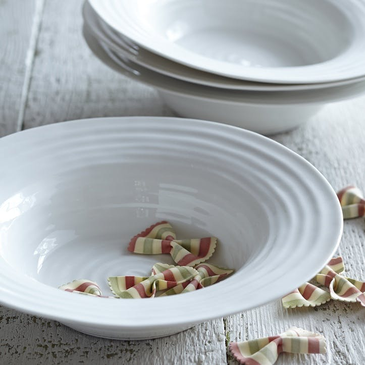 Bistro Bowls, Set of 2; White