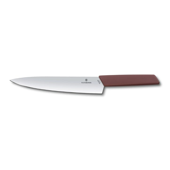 Swiss Modern Carving Knife, 22cm, Grape Red