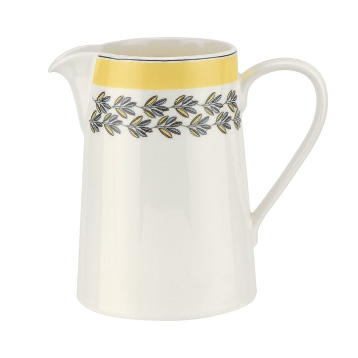 Westerly 1.5pt Jug; Yellow Band