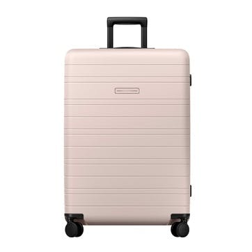 H7, Large Check-In Trolley Suitcase, W52 X H77 X D28cm, Pale Rose