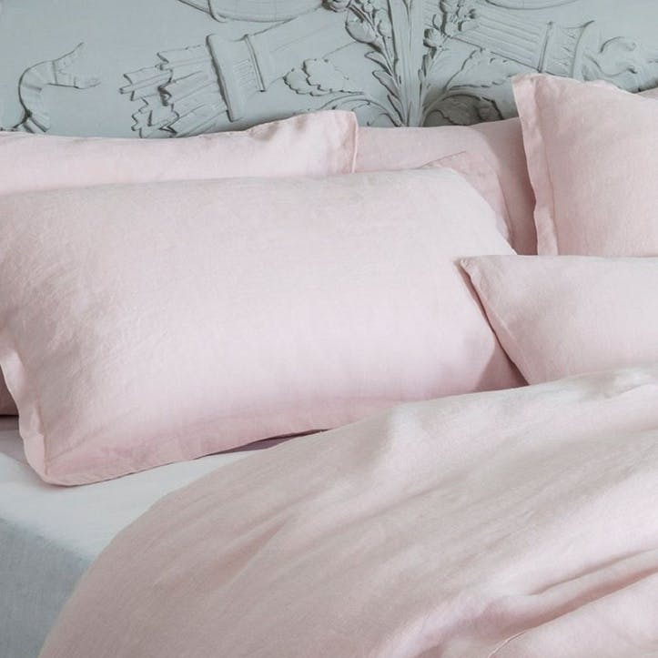 Mireille Oxford Pillowcase, King Size, Rose