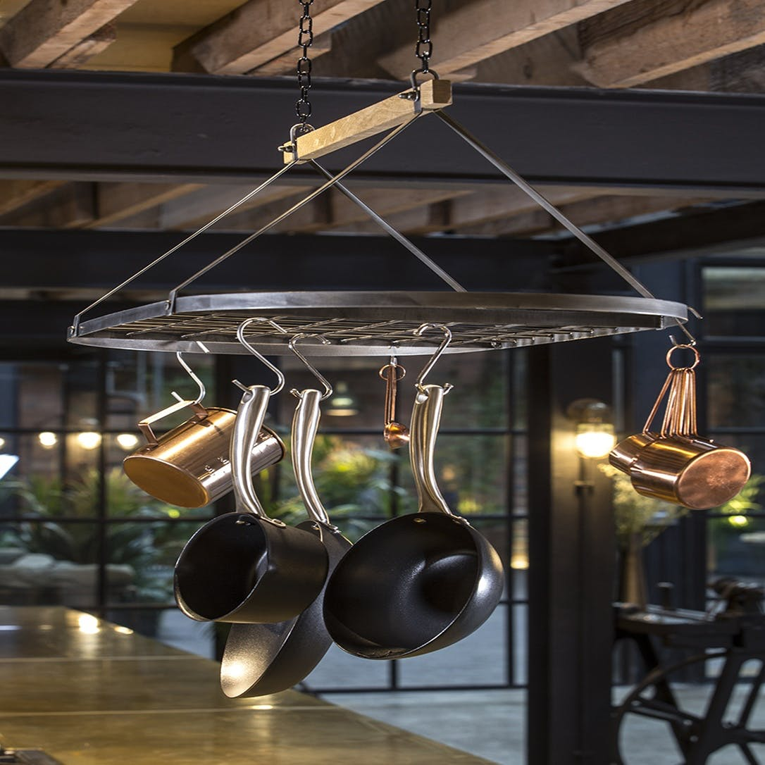 Prezola - Industrial Kitchen Vintage-Style Ceiling Hanging ...
