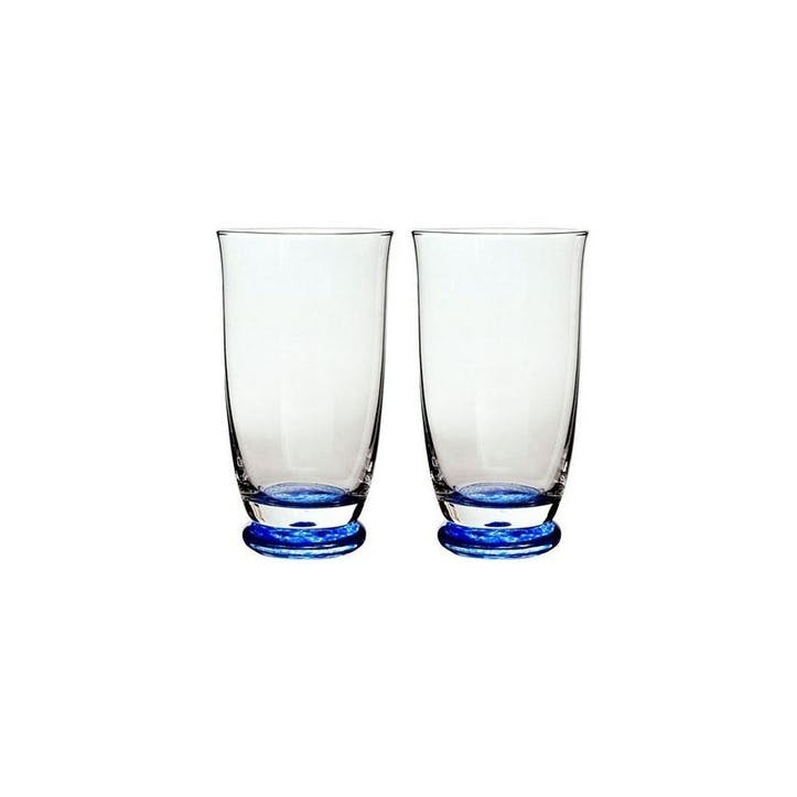 Imperial Blue Set of 2 Large Tumblers, 400ml