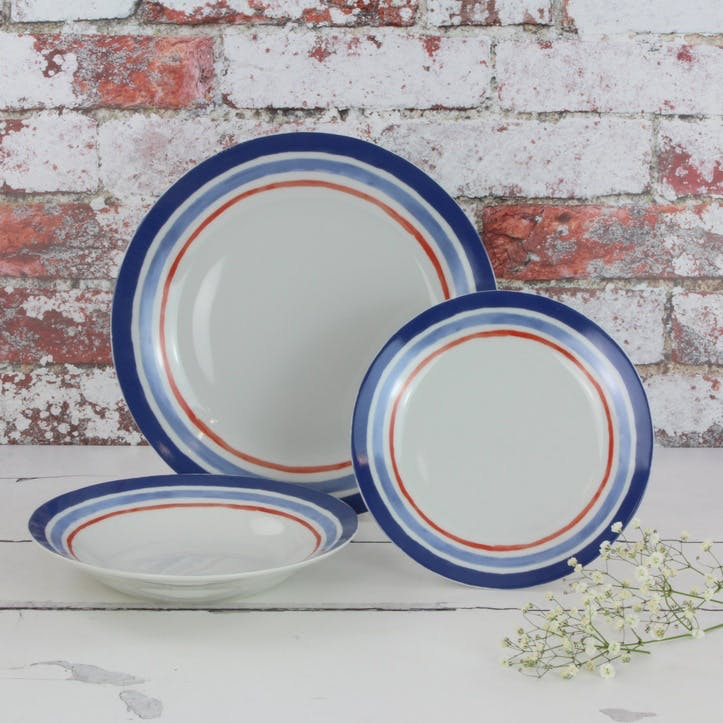 St Tropez Dinner Set, 12 Pieces