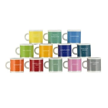 Espresso Mug, Set of 12, 110ml, Multi