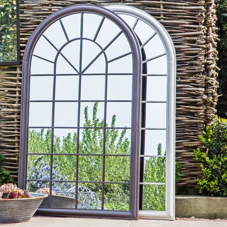 Large Arched Outdoor Mirror, Estate