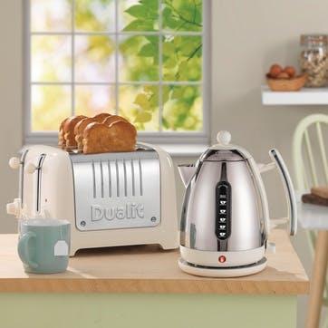 Lite Toaster 2 Slot; Cream