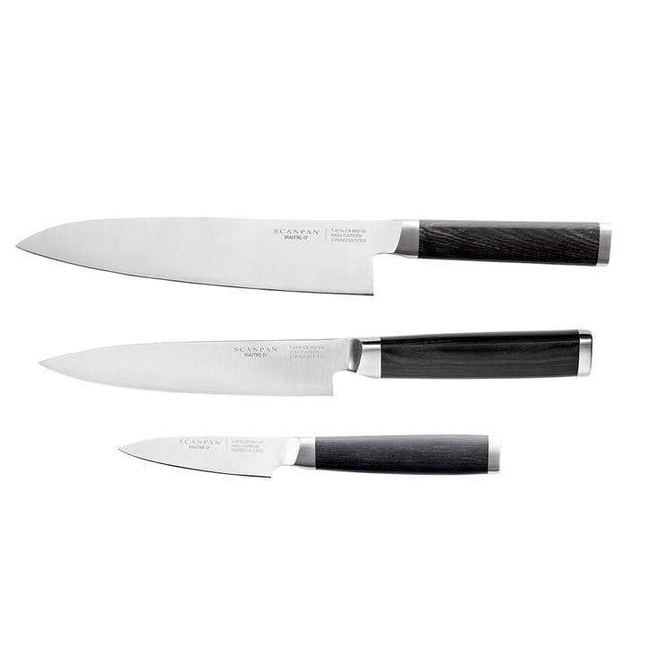 Maitre D' 3-Piece Knife Set
