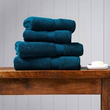 Supreme Hygro Kingfisher Pair of Bath Sheets