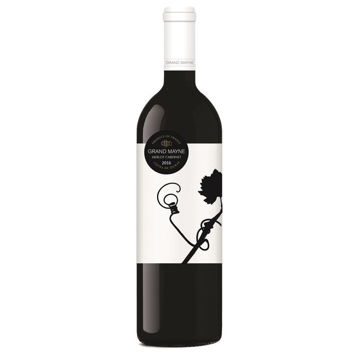 Grand Mayne Merlot Cabernet with Personalised Label, Case of 6