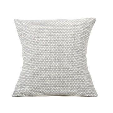 Classic Clarendon Cushion -  40cm; Linen On Grey