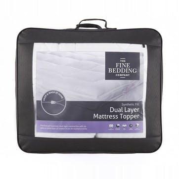 Dual Layer Double Mattress Topper