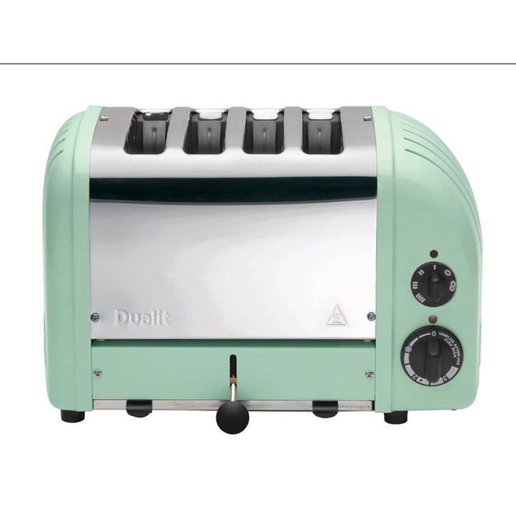 Classic Vario 4 Slot Toaster, Mint Green