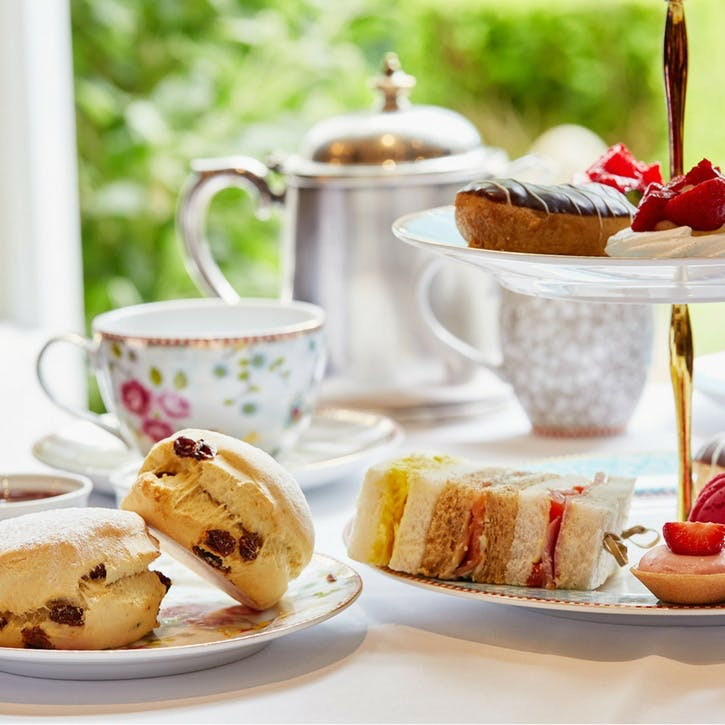 Vintage Afternoon Tea and Treatment for Two at the Spread Eagle Hotel and Spa