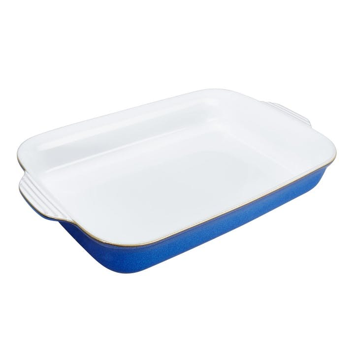 Imperial Blue Large Rectangular Oven Dish, 3.1lt