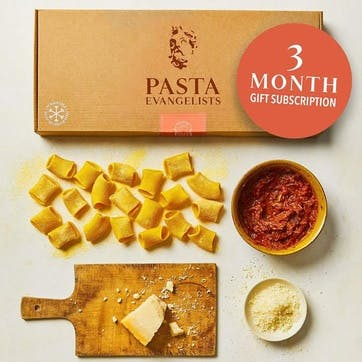 3 Months of Pasta Subscription