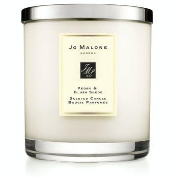 Luxury Candle, Peony & Blush Suede