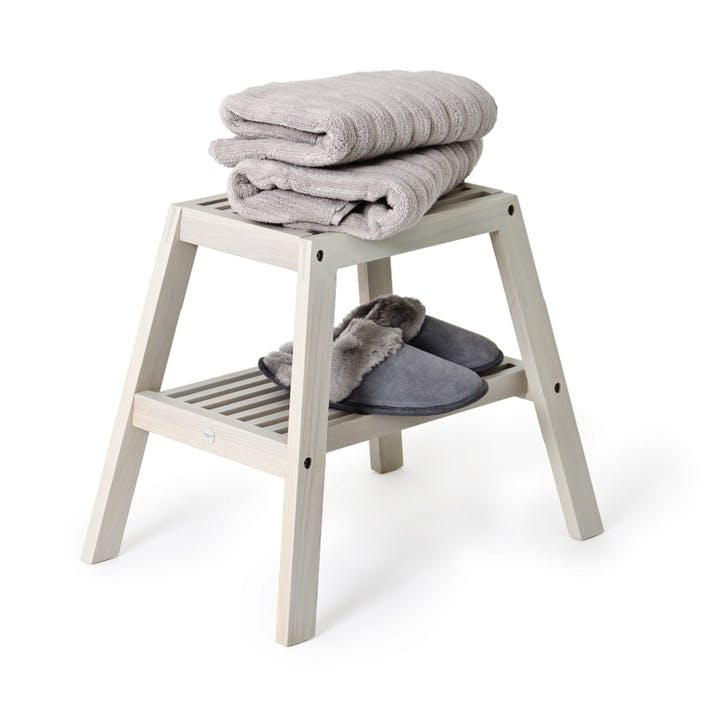 Slatted Stool, Oyster