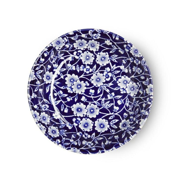 Calico Butter Pat Dish, 12cm, Blue