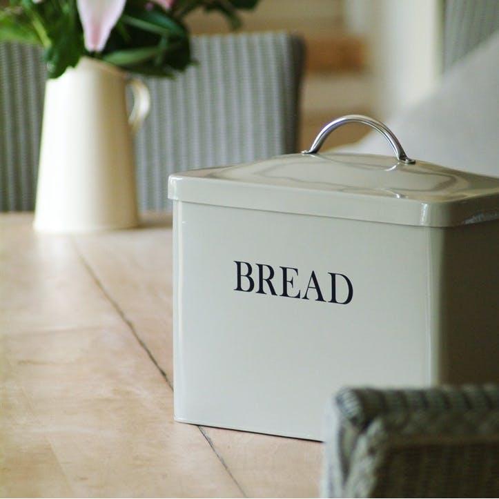 Clay Bread Bin