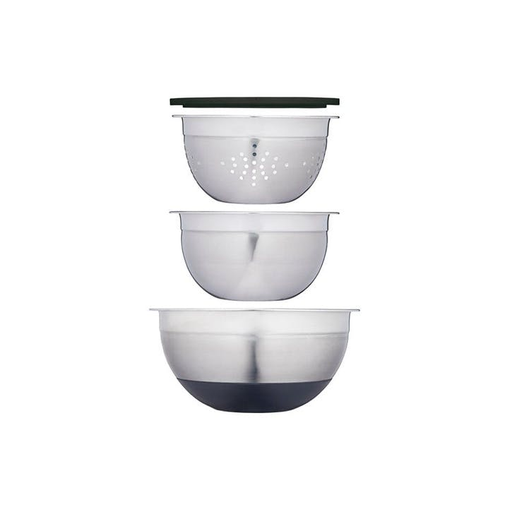 Smart Space Stainless Steel Bowl, Set of 3