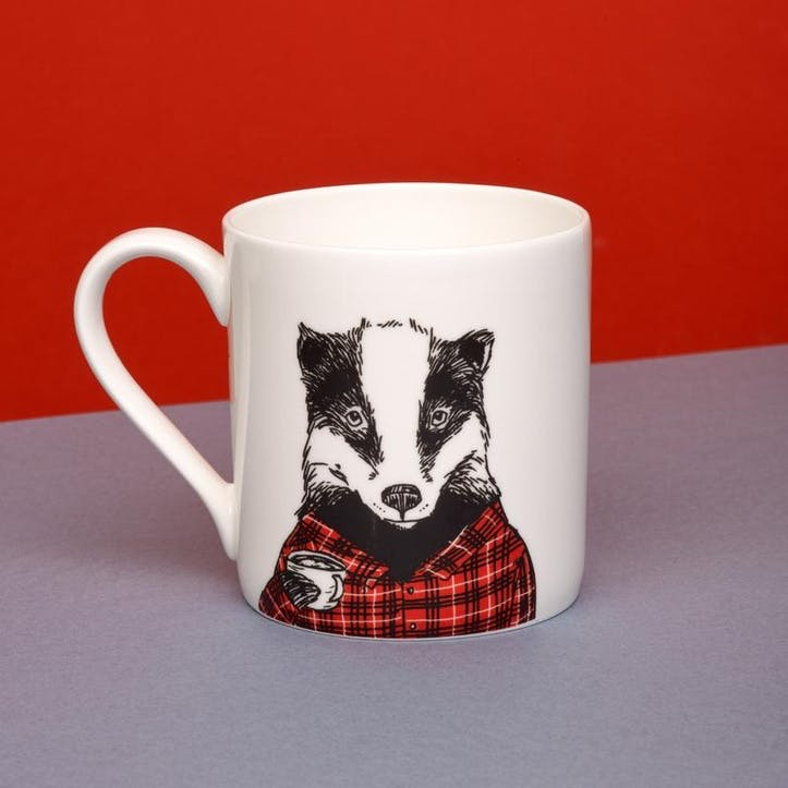 Badger Animal Mug