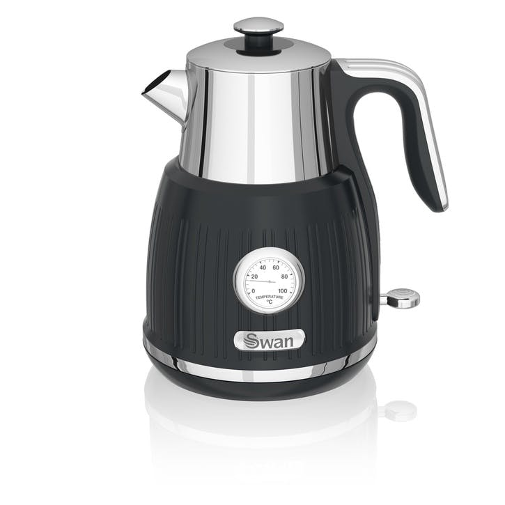 Retro Jug Kettle, Black